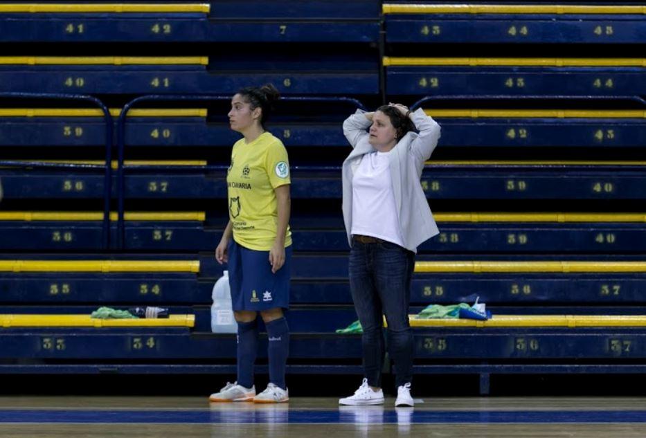 Cristina Gimeno ( Gran Canaria Teldeportivo ) ¨ los errores ante el Poio Pescamar nos han condenado ¨
