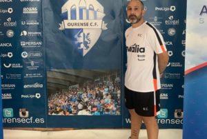 Hoy entrevistamos a Carballo, entrenador del Ourense Envialia ¨B¨