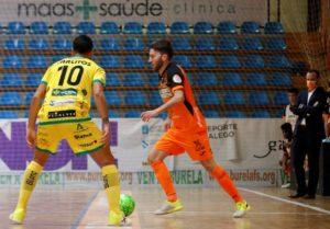 Burela P. Rubén viaja a Santiago para disputar la Copa de S.M El Rey
