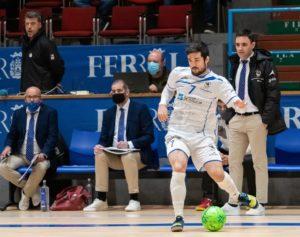 Iago Rodriguez declarado mejor jugador del O Parrulo ante el BeSoccer UMA Antequera
