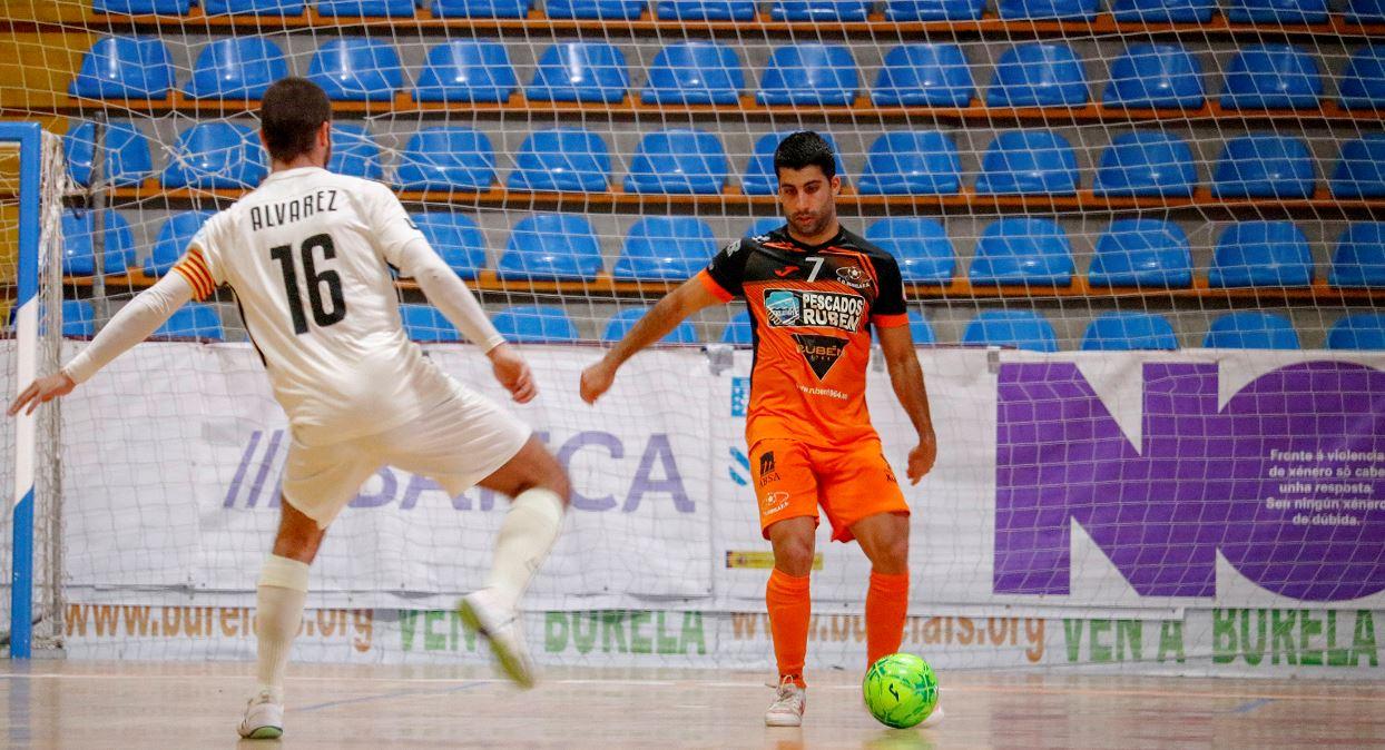 Burela P. Rubén se enfrentará al Jaén Paraíso interior en una tarde de Futsal en Vista Alegre