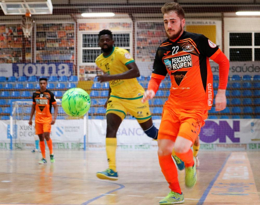 Importante salida del Burela P. Rubén a la cancha del Real Betis Futsal