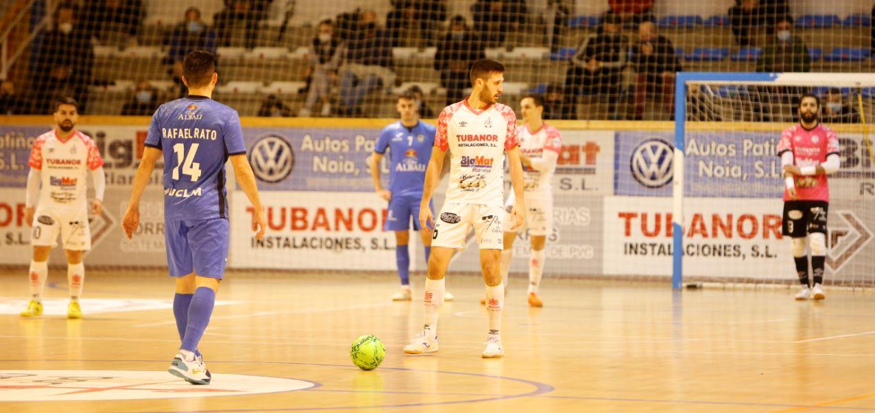 Un ¨gran ¨ Noia Portus Apostoli cae ante el Valdepeñas en la Copa de S.M El Rey ( 1 – 4 )