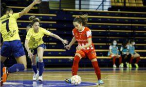 Gran partido del Gran Canaria Teldeportivo a pesar de la derrota ante el poderoso Futsi Navalcarnero ( 1 – 5 )