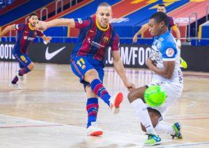 El Burela P. Rubén cae ante el FC Barcelona en un partido que fue de menos a mas ( 5 – 2 )