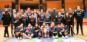 El Burela P.Rubén recibe la felicitación de la Diputación de Lugo en Vista Alegre