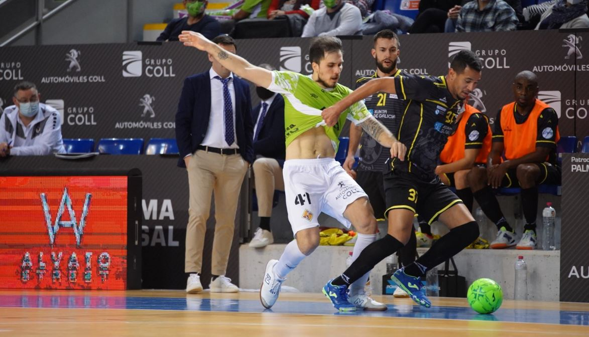 O Parrulo Ferrol ofrece un buen nivel, a pesar de caer ante el líder Palma Futsal