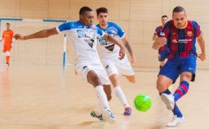 Burela P. Rubén cae en la Copa de S.M. El Rey ante FC Bacelona