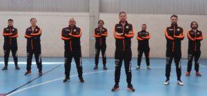 Jorge Basanta entrenador del Viaxes Amarelle FSF, capitanea un cuerpo técnico de lujo