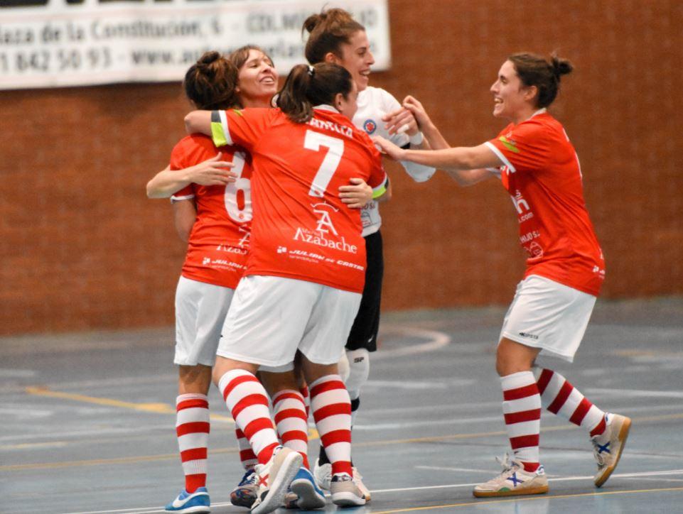 Colme Futsal consigue una contundente  victoria en la cancha del Simancas