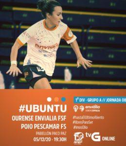 Ourense Envialia – Poio Pescamar duelo por todo lo alto en la Primera Femenina RFEF Futsal