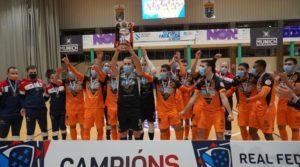 Burela P. Rubén se lleva la Copa Galicia al derrotar al Noia Portus Apostoli