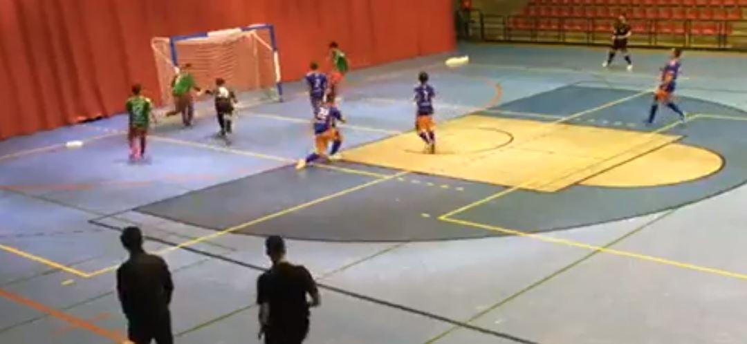Sala Ourense cae en la cancha del O Esteo Fs a pesar de realizar un buen partido ( 2 – 1 )