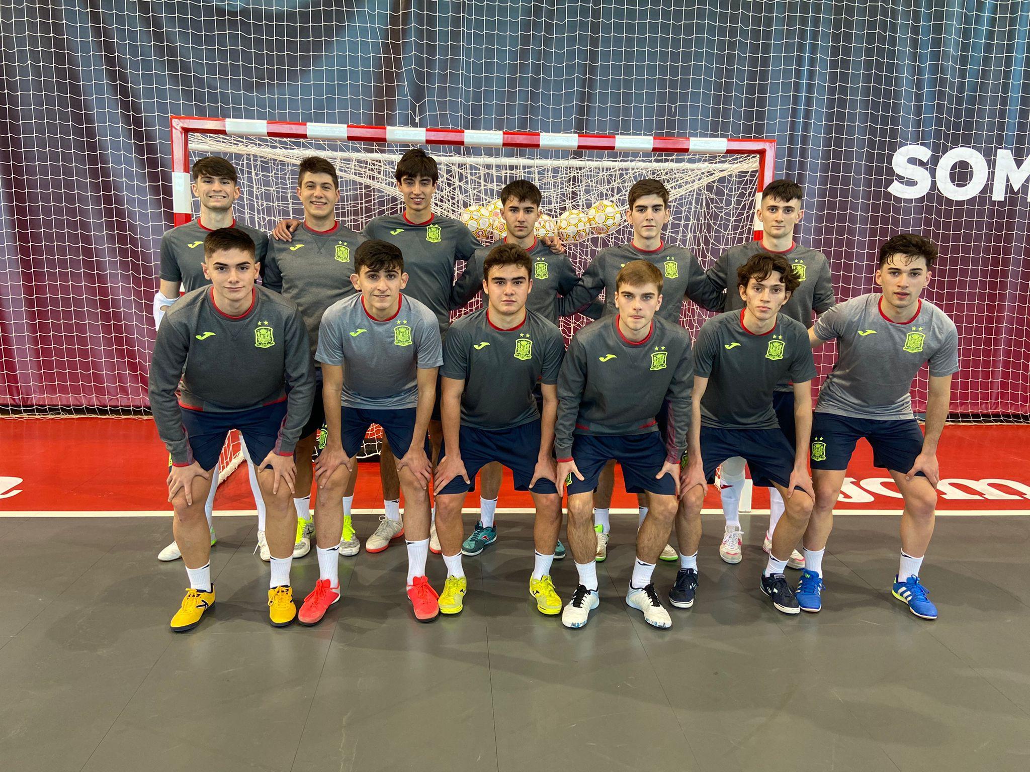 La Selección Española  Sub19 y Sub18 de Fútbol Sala concentradas en Las Rozas