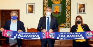 Soliss FS Talavera, seguirá contando con el apoyo de la Diputación de Toledo