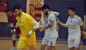 Trabajado punto del JERUBEX Santiago Futsal en Móstoles  ( 2 – 2 )
