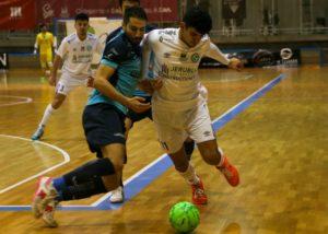 JERUBEX Santiago Futsal cede tres puntos ante el Soliss FS Talavera (1-3)