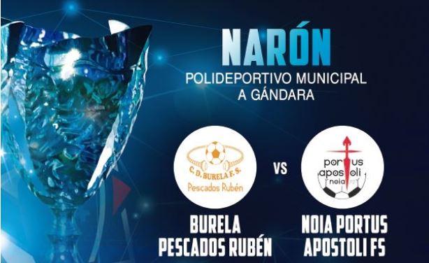 La Copa Galicia espera nuevo dueño en el Pabellón de A Gándara ( Narón )