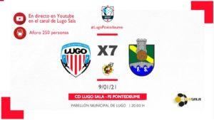 El CD Lugo Sala implantará un sistema de venta de entradas para los partidos del equipo de Tercera División