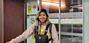 La internacional Boliviana Ticona nueva incorporación del Teldeportivo FSF