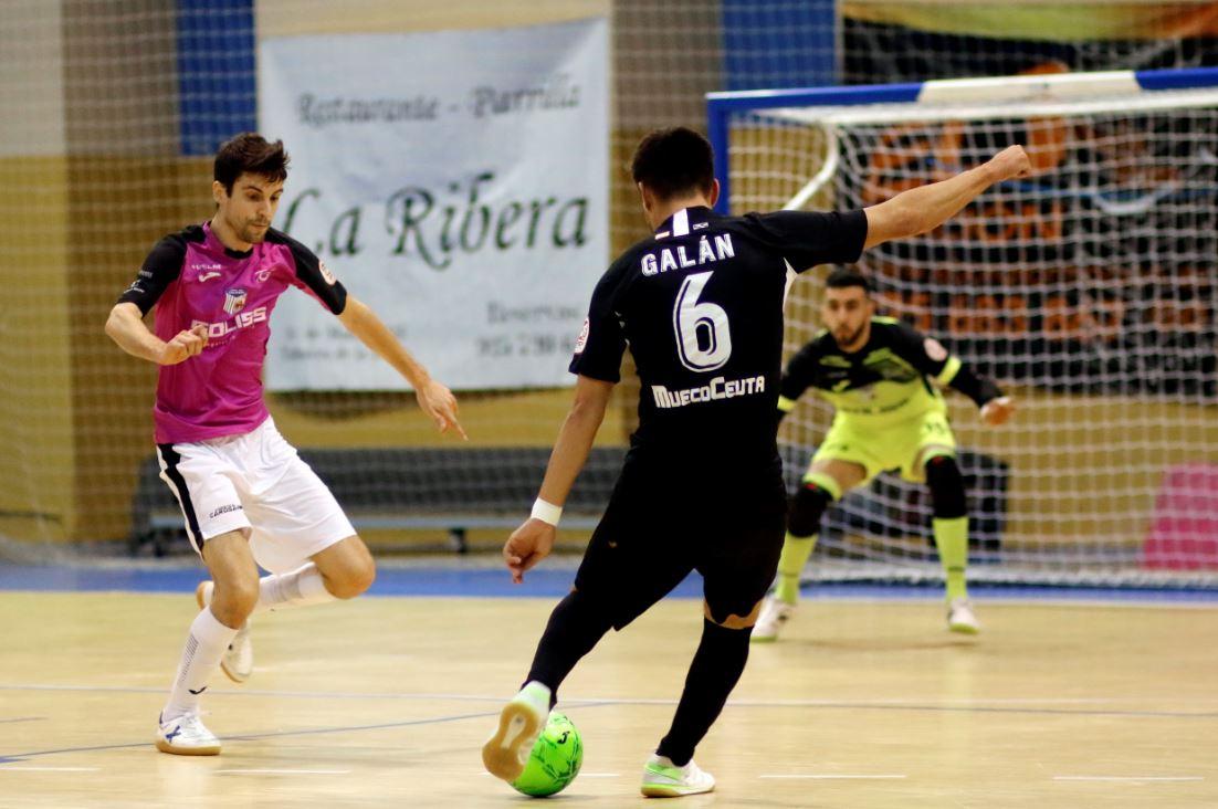 El  Soliss FS Talavera no puedo con el UA Ceutí de Santi Valladares ( 1 – 3 )