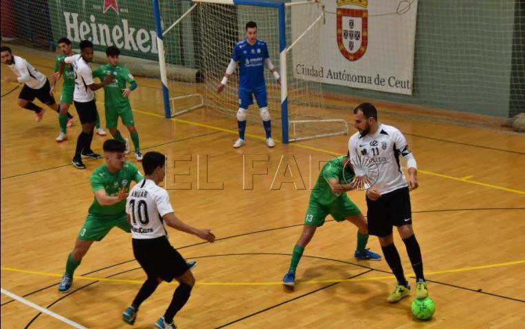 Regresa de vacío el JERUBEX Santiago Futsal en su visita a Ceuta