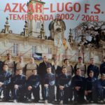 División de Honor con el Azkar Lugo FS temporada 2002 – 2003