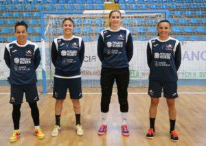 Cuatro jugadoras del Burela Pescados Rubén convocadas con Brasil para los amistosos ante España