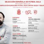 La Selección Española de Fútbol Sala cambia su plan de viaje a Suiza y modifica la convocatoria