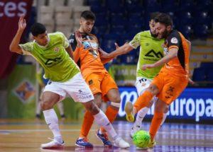 Burela Pescados Rubén , no puede con el gran potencial del Palma Futsal