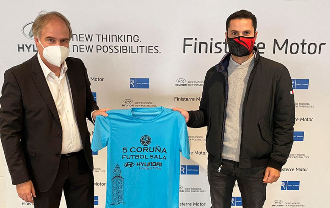 Oscar Medin ( Presidente 5 Coruña FS )  ¨somos un Club fundamentalmente formativo ¨
