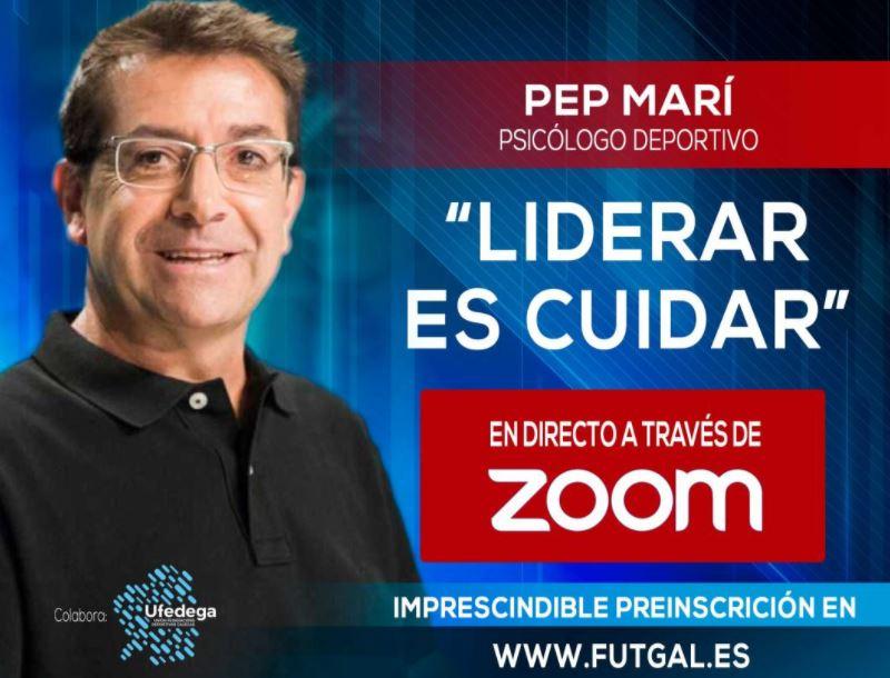 Gran expectación ante la ponencia del prestigioso psicólogo deportivo PEP MARI en la Federación Galega de Fútbol