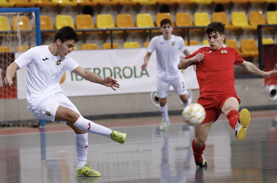 Balance positivo en el  enfrentamiento entre la  Selección Sub19 ante la Sub 18