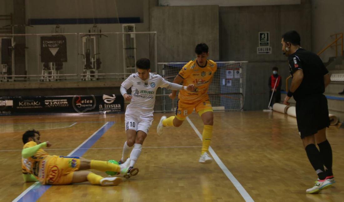 A pesar de empezar ganando, el Santiago Futsal no puede con el potente Atco. Benavente ( 3 – 6 )