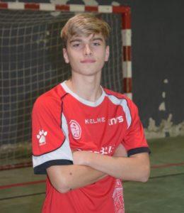 Lukas Ramos del 5 Coruña FS convocado por la Selección Española Sub19