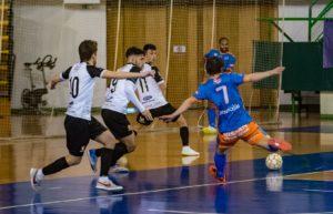 Suma y sigue del Sala Ourense, ante un buen Estrada Futsal