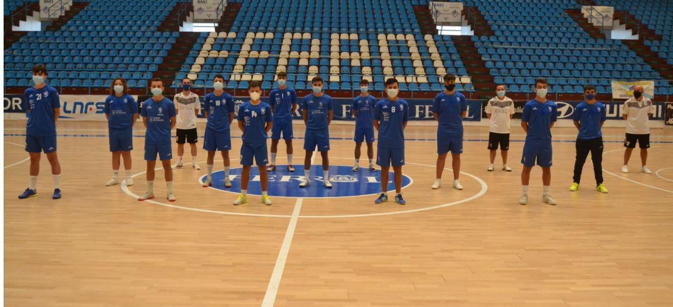 El equipo juvenil del O Parrulo Ferrol vence al Lugo Sala Keeper Galicia