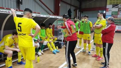 El Cidade de Narón suma un punto en la difícil cancha de A Estrada Futsal