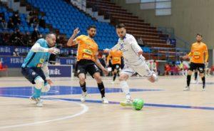 O Parrulo Ferrol, no puede conseguir los tres puntos ante un Ribera Navarra muy efectivo ( 3 – 7 )