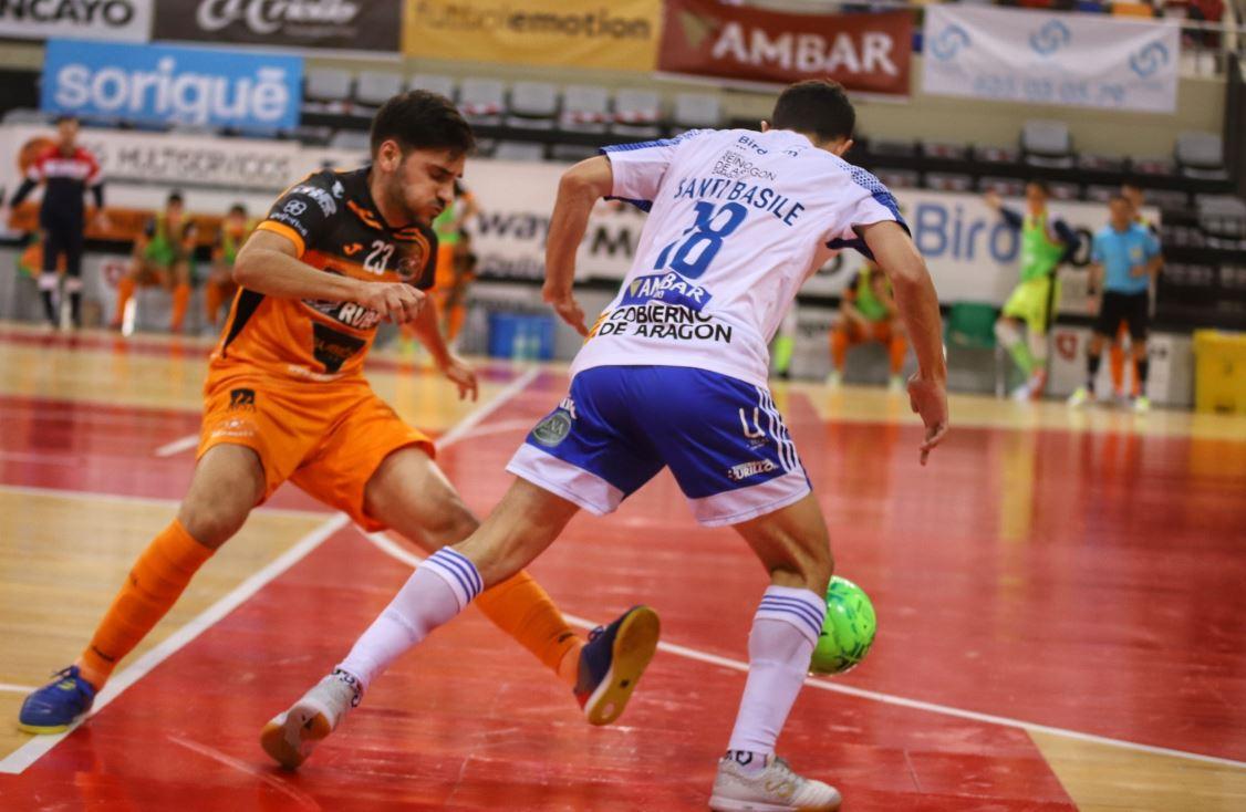 Burela P. Rubén empata ante el Futbol Emotion Zaragoza con un gol de Quintela sobre la bocina  ( 3 – 3 )