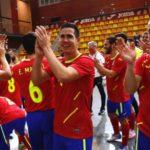 España remonta y  vence a Eslovenia en un partido muy ¨ físico ¨