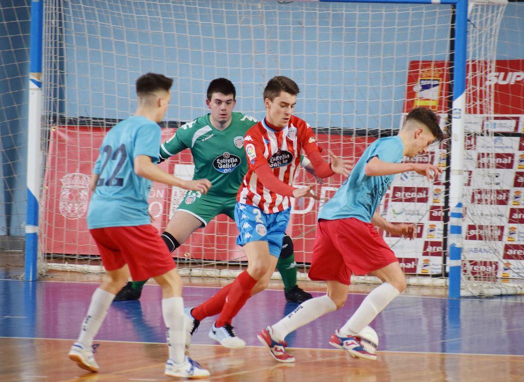 El CD Lugo Sala se impone al Sport Sala