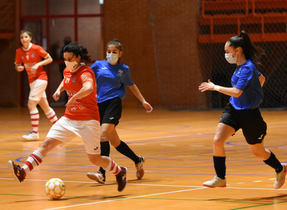 Complicada salida del Colme Futsal a la cancha del San Fernando
