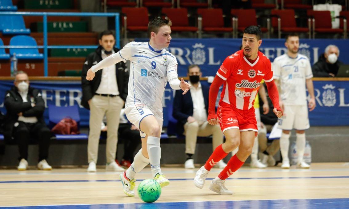 El O Parrulo Ferrol, acusa el inicio de partido y no puede con el Jimbe Cartagena (  2 – 6 )