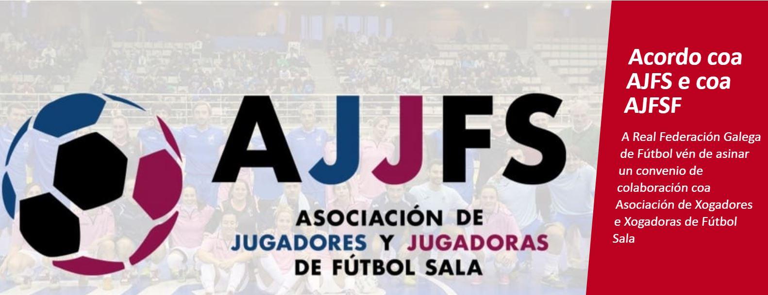 La Real Federación Galega de Fútbol sigue extendiendo lazos,  y firma un acuerdo con la AJFS y AJFSF