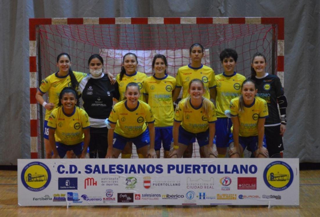 CD Salesianos Puertollano recibe al Mora FSF en un nuevo derbi regional de la Segunda Femenina RFEF