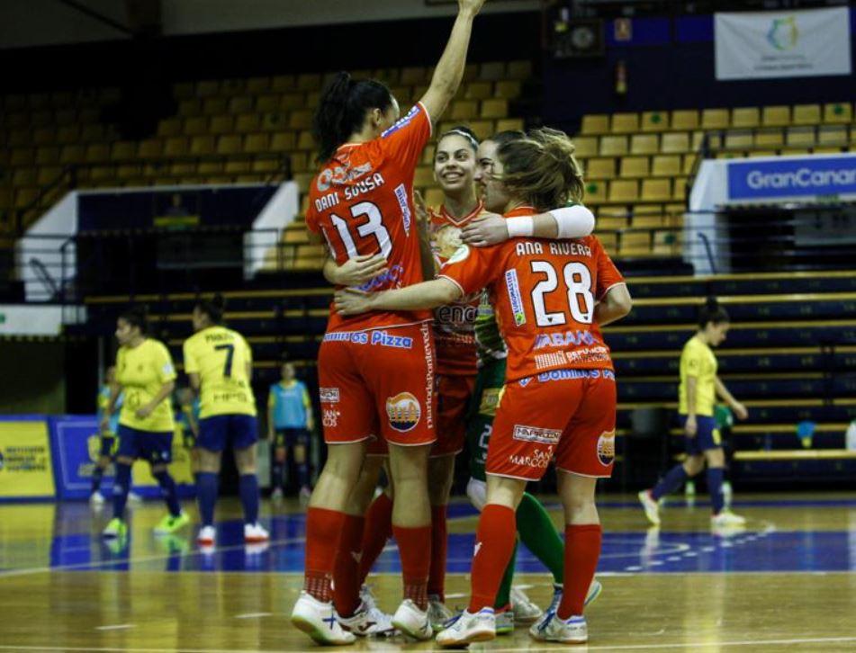 Poio Pescamar vence en Gran Canaria al Teldeportivo FSF  ( 1 – 4 )
