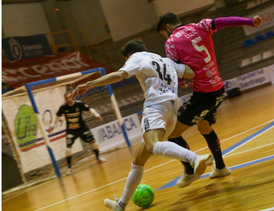 El derbi gallego de la Segunda División se lo lleva el Noia Portus Apostoli, ante un buen Santiago Futsal ( 0 – 2 )