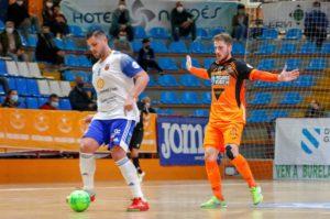 Un Burela P. Rubén en etapa de transición visita la cancha del Futbol Emotion Zaragoza