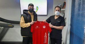 La clínica Facto Biomecánico asesor oficial en Podología del 5 Coruña FS